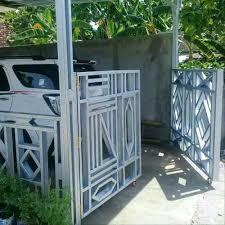Pagar garasi dari baja ringan bajaringan.my.id